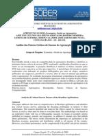 ANÁLISE DOS FATORES CRÍTICOS DE SUCESSO DO AGRONEGÓCIO BRASILEIRO