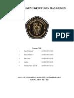 keputusan pendukung manajemen (sistem informasi manajemen)