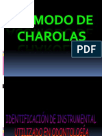 Acomodo de Charolas