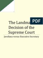 The Landmark Decision