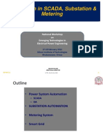 Automation in SCADA, Substation & Metering
