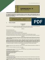 No. 15 Comunicado 17 y 18 de Abril de 2013
