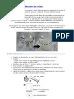 Décomposition du thiosulfate de sodium