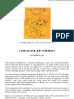 Petruccelli Luciana - l'Enigma Delle Pietre Di Ica