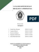 Paper Analisis Kasus Fertilitas