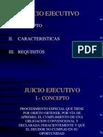 Juicio Ejecutivo (1)