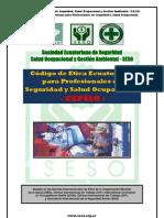 Codigodeetica Ecuatoriano Para Profesionales de Seguridad y Salud Ocupacional