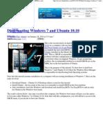 Dual-Booting Windows 7 and Ubuntu 10.10 - LinuxBSDos