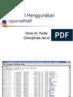 Ppt Webmail Menggunakan Squirrelmail 6 2002