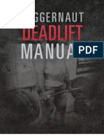 Juggernaut Deadlift Manual