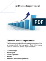 Continual Process Improvement