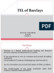 PESTEL of Barclays  in india