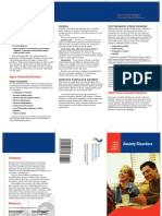 Anxiety brochure