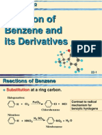 22 Reactions of Benzene