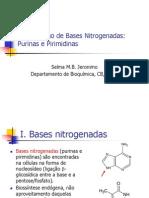 Metabolismo de Bases Nitrogenadas (1)