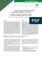 Corticotomía Microcirugía ortodóntica en paciente