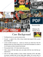 Bhopal Gas Incident