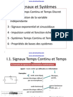 1 Signaux Et Systemes