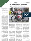 Kilian Moser feiert Exploit in Rotterdam