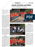 Saubere Wegränder, Bachläufe und Wälder