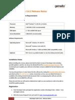 Developer Suite 3.6.2 Release Notes