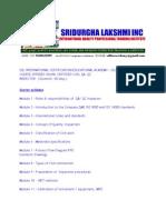 Syllabus Civil Qaqc Course Sdlinc 9600162099