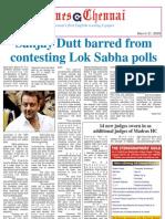 Times Chennai, E-paper, March 31, 2009