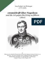 1810 Wolzogen Denkschrift über Napoleon und die Art gegen ihn Krieg zu führen