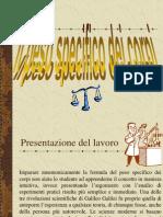 """Peso specifico per """"Esperimenti SMFN"""""""
