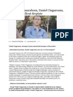 Interviul Lui Vitalie Ciugureanu, Stranepotul Lui Daniel Ciugureanu, Prim-ministrul Intregitor Al Basarabiei