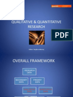 Quantitative vs Qualitative Research