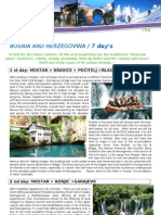 7 Day Program From Mostar