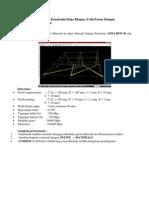 Analisis Dan Desain 3D Konstruksi Baja Ringan