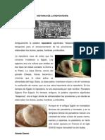 HISTORIA DE LA REPOSTERÍA