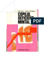 Copilul Deficient Mintal Ciumageanu