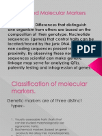 PCR Based Molecualr,Genetic Markers