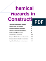 Chemical Hazards in Construction