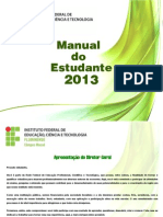 Manual Do Estudante 2013