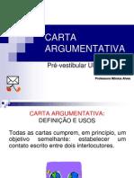 Carta Argumentativa - 1