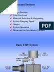 Vacuum Systems UHV