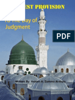 The Best Provision To The Day of Judgment