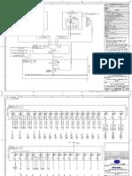 SARAS-EL-D-1000, Key Single Line Diagram, Rev.B