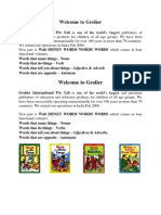 Grolier Child Educational Programme