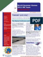 WSG11 Newsletter Issue 2 FINAL