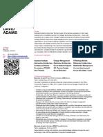 David Adams - Resume Social Business Analyst Architect - Digital Workplace QR code