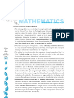 Mathematics (Class I-V)
