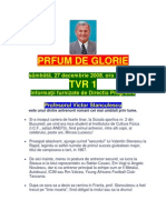 Parfum de Glorie - Graur TVRo