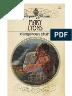 Lyons, Mary - Dangerous Stunt