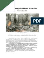 Bombardeo de La Ciudad Civil de Gernika
