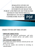 Comparative Study on Financial Performance and Price